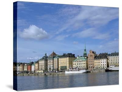 Gamla Stan, Stockholm, Sweden-Peter Thompson-Stretched Canvas Print