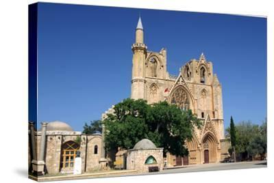 Lala Mustafa Pasha Mosque, Famagusta, North Cyprus-Peter Thompson-Stretched Canvas Print