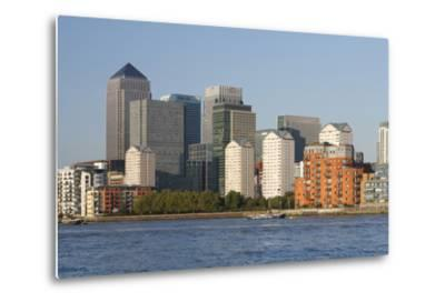 Canary Wharf, London, 2009-Peter Thompson-Metal Print