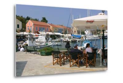 Fiskardo Harbour, Kefalonia, Greece-Peter Thompson-Metal Print