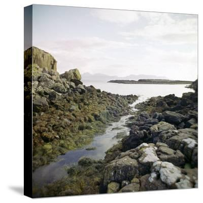 Canal Near the Promontory Fort at Ruadha a Dunain-CM Dixon-Stretched Canvas Print