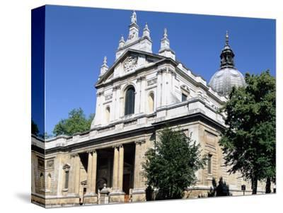 Brompton Oratory, South Kensington, London-Peter Thompson-Stretched Canvas Print