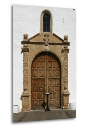 Church, Betancuria, Fuerteventura, Canary Islands-Peter Thompson-Metal Print