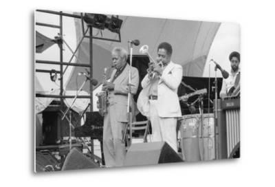 Sonny Stitt and Dizzy Gillespie, Capital Jazz, 1979-Brian O'Connor-Metal Print