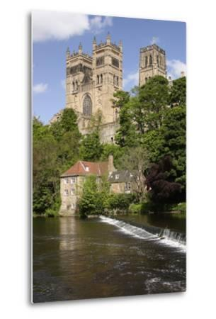Durham Cathedral and Mill-Peter Thompson-Metal Print