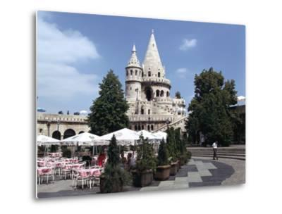 Fishermens Bastion, Budapest, Hungary-Peter Thompson-Metal Print