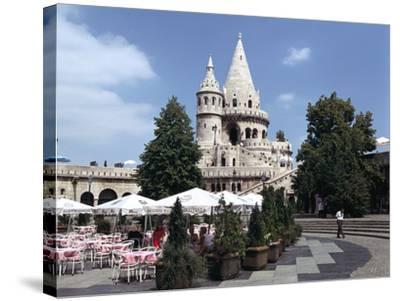 Fishermens Bastion, Budapest, Hungary-Peter Thompson-Stretched Canvas Print