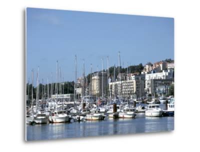 Port De Plaisance, Boulogne, France-Peter Thompson-Metal Print