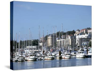 Port De Plaisance, Boulogne, France-Peter Thompson-Stretched Canvas Print