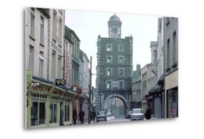 Street Scene in Youghal, County Cork, Ireland-CM Dixon-Metal Print