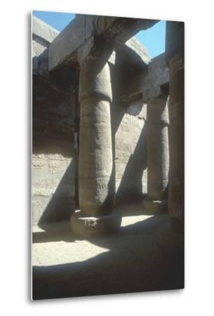 The Great Hypostyle Hall, Temple of Amun, Karnak, Egypt, 19th Dynasty, C13th Century Bc-CM Dixon-Metal Print