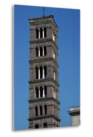 The Tower of Santa Maria in Rome, 12th Century-CM Dixon-Metal Print