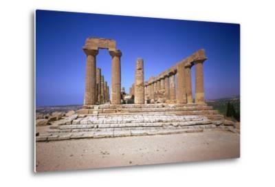 The Doric Temple of Hera at Agrigento, 5th Century Bc-CM Dixon-Metal Print