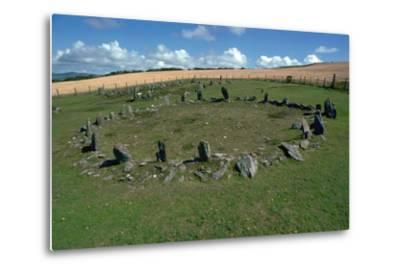 Braiid Settlement Site on the Isle of Man-CM Dixon-Metal Print