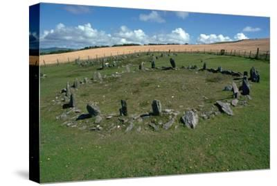 Braiid Settlement Site on the Isle of Man-CM Dixon-Stretched Canvas Print