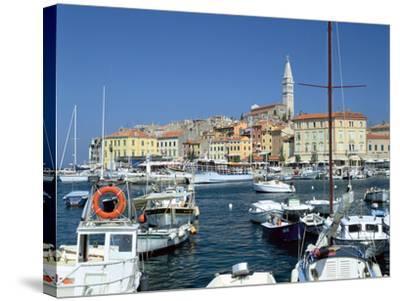 Rovinj Harbour, Croatia-Peter Thompson-Stretched Canvas Print