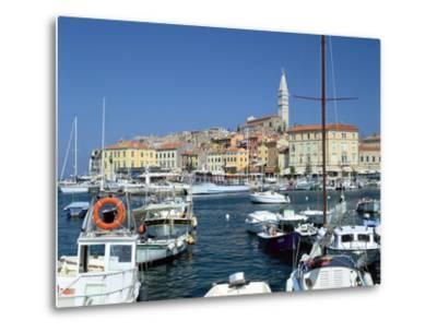 Rovinj Harbour, Croatia-Peter Thompson-Metal Print