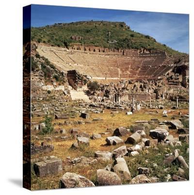 Greek Theatre at Ephesus, 1st Century Bc-CM Dixon-Stretched Canvas Print