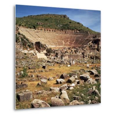 Greek Theatre at Ephesus, 1st Century Bc-CM Dixon-Metal Print