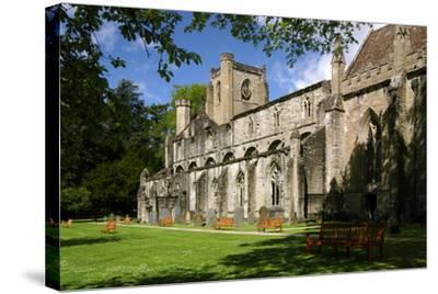 Dunkeld Cathedral, Perthshire, Scotland-Peter Thompson-Stretched Canvas Print