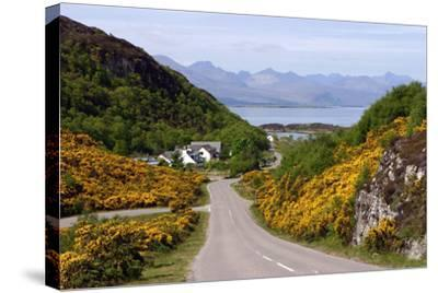 View of Skye, Highland, Scotland-Peter Thompson-Stretched Canvas Print