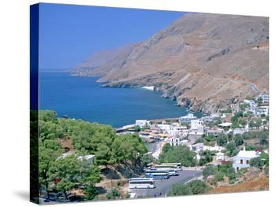Hora Sfakion, Crete, Greece-Peter Thompson-Stretched Canvas Print