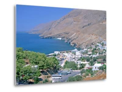Hora Sfakion, Crete, Greece-Peter Thompson-Metal Print