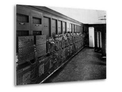 Eniac Computer Was the First General-Purpose Electronic Digital Computer--Metal Print