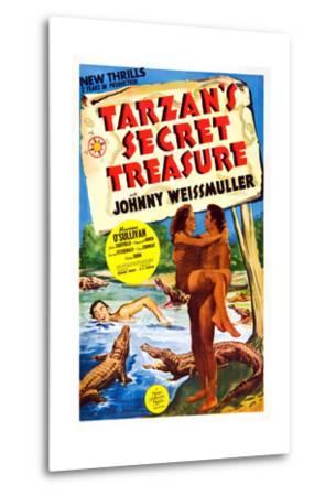 Tarzan's Secret Treasure--Metal Print