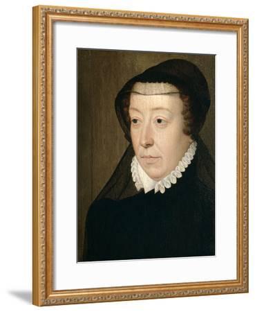 Catherine De Medicis, Queen of France-Francois Clouet-Framed Giclee Print