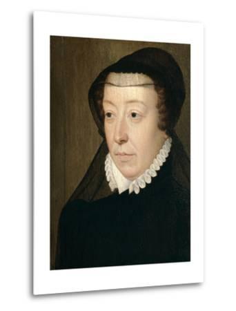 Catherine De Medicis, Queen of France-Francois Clouet-Metal Print