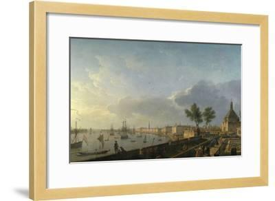 Bordeaux Harbor and the City Walls-Claude Joseph Vernet-Framed Giclee Print