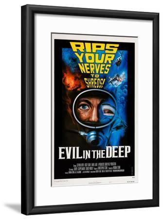 Evil in the Deep--Framed Giclee Print