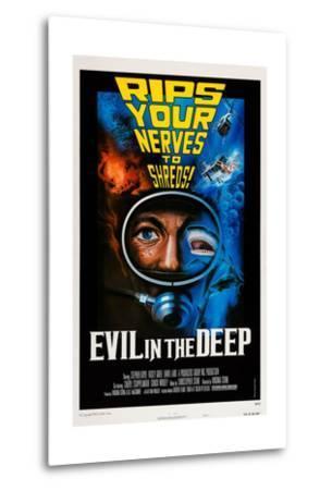 Evil in the Deep--Metal Print