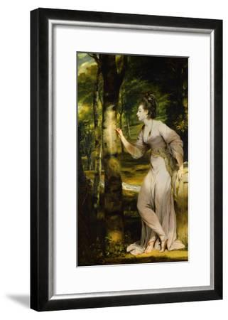 Portrait of Joanna Lloyd of Maryland-Joshua Reynolds-Framed Giclee Print