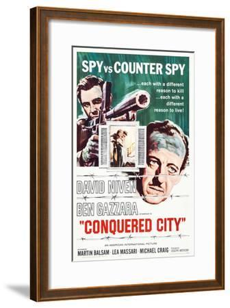 Conquered City--Framed Giclee Print
