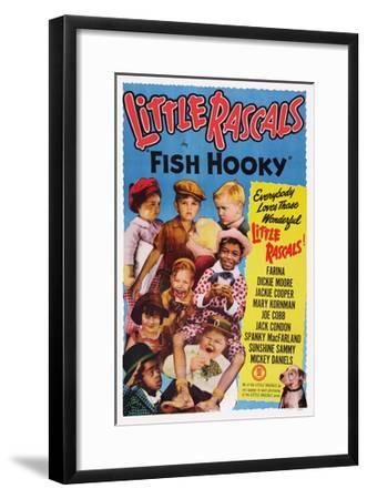 Fish Hooky--Framed Giclee Print
