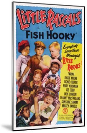 Fish Hooky--Mounted Giclee Print