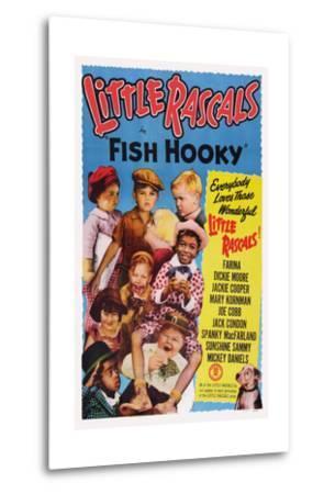 Fish Hooky--Metal Print