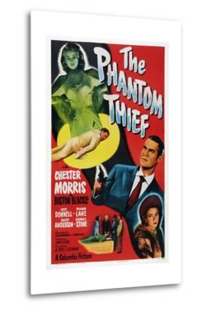The Phantom Thief--Metal Print