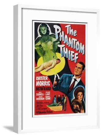 The Phantom Thief--Framed Giclee Print