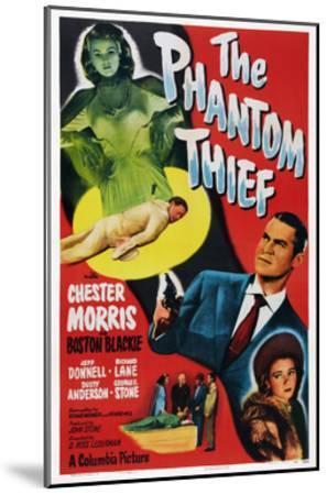 The Phantom Thief--Mounted Giclee Print