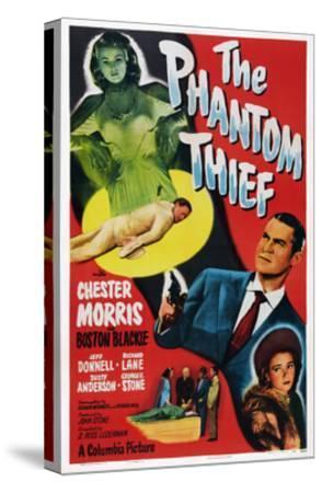 The Phantom Thief--Stretched Canvas Print