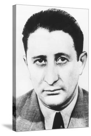 Carlo Gambino, an Italian-Born American Gangster Was Boss of the Gambino Crime Family--Stretched Canvas Print
