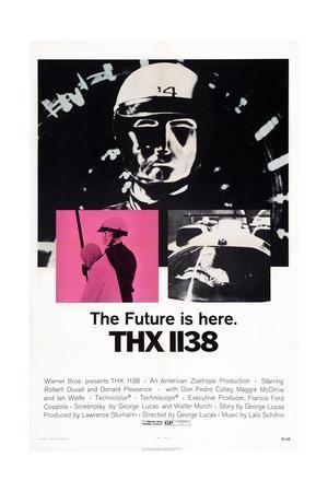 Thx 1138--Framed Giclee Print