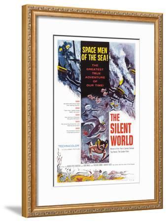 The Silent World--Framed Giclee Print