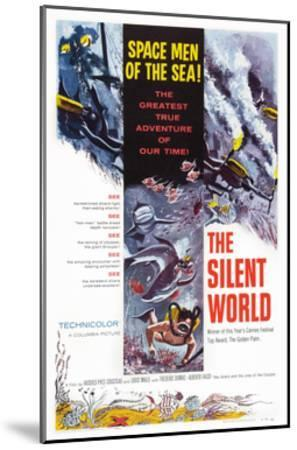The Silent World--Mounted Giclee Print