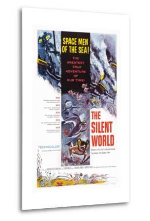 The Silent World--Metal Print