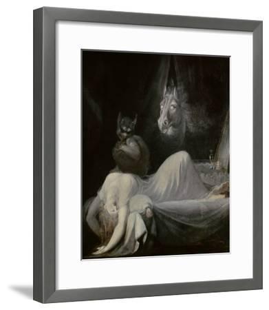 The Nightmare, Ca. 1790-91-Johann Henrich Fussli-Framed Giclee Print