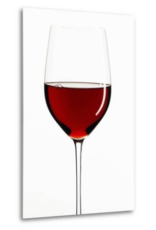 A Glass of Red Wine-Peter Rees-Metal Print